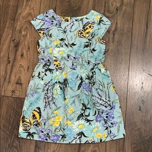 Gap Kids Girls Floral Dress